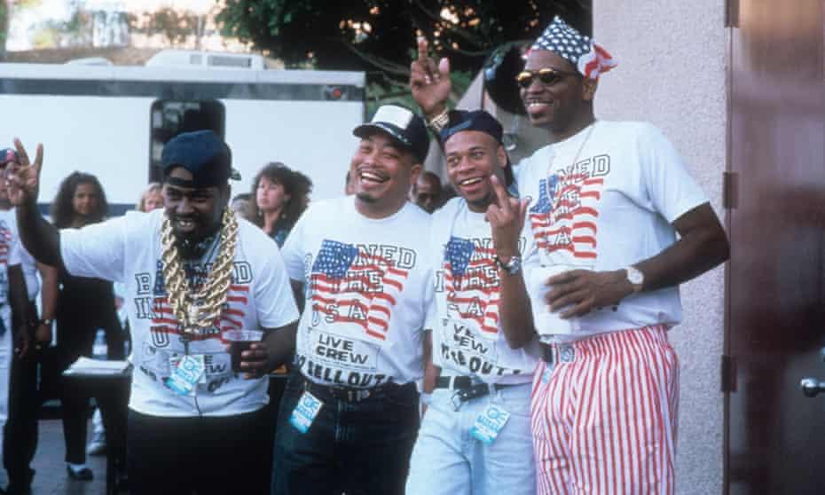 2 Live Crew in 1990.