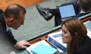 Tony Abbott and Peta Credlin