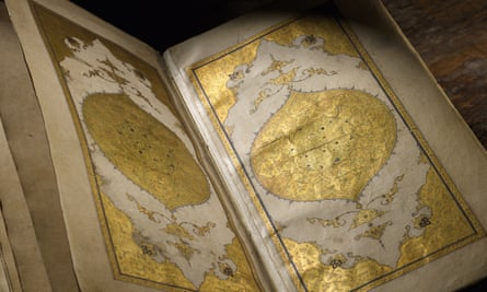 The Divan of Hafez, dedicated to the library of Pir Budaq, copied by Shaykh Mahmud Pir Budaqi, Baghdad, dated 1462.