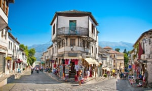 The Ottoman-built city of Gjirokastra is a world heritage site.