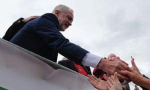 Jeremy Corbyn at Durham miners' gala