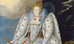 Queen Elizabeth I (The 'Ditchley' portrait) by Marcus Gheeraerts the Younger, c 1592