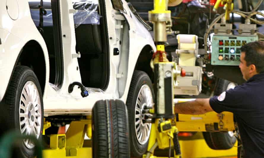 Fiat production line