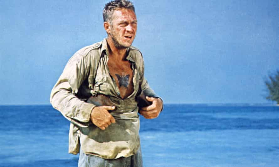 Steve McQueen as Papillon in the eponymous 1973 film.