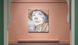 Ben Quilty's portrait of Margaret Olley
