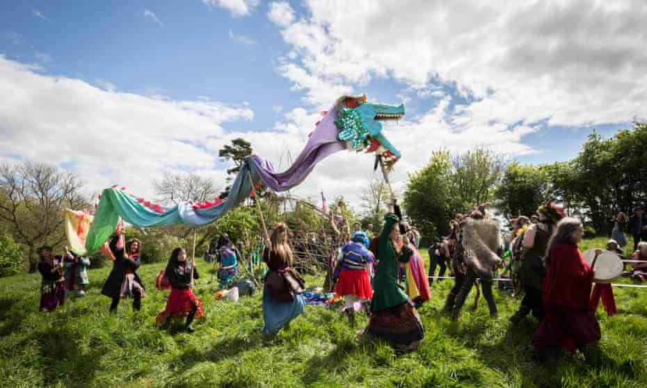 The annual Beltane celebrations.