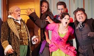 Virtuoso ensemble cast ... Barbiere di Siviglia at the Royal Opera House, September 2016.