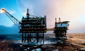 A North Sea Oil platform rig