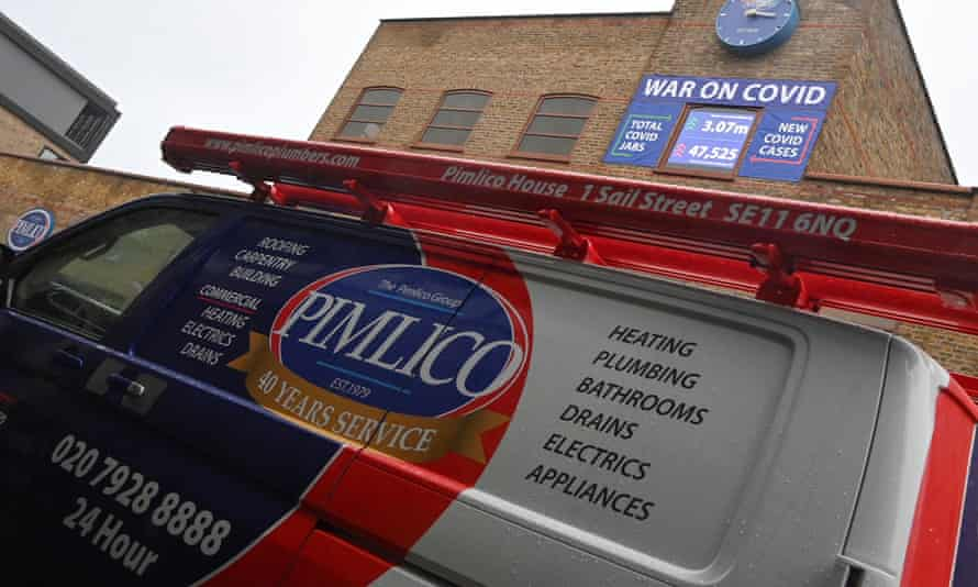 Pimlico Plumbers has a 'no jab no job' policy but this could be difficult to enforce legally.