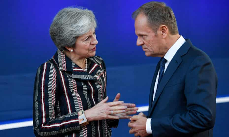 So what's this about Brexit? For Donald Tusk, Britain's problems are of minor concern.