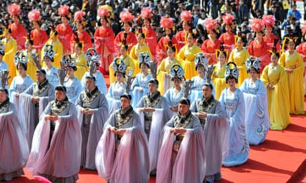 Qingming Festival, Huangling County, Shaanxi Province, China - 05 Apr 2015