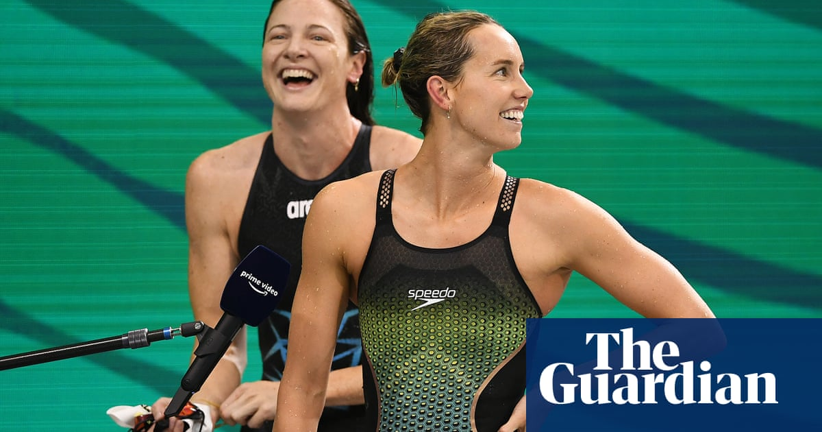 Australia's swimmers on the pace in bid to knock US off Olympic perch