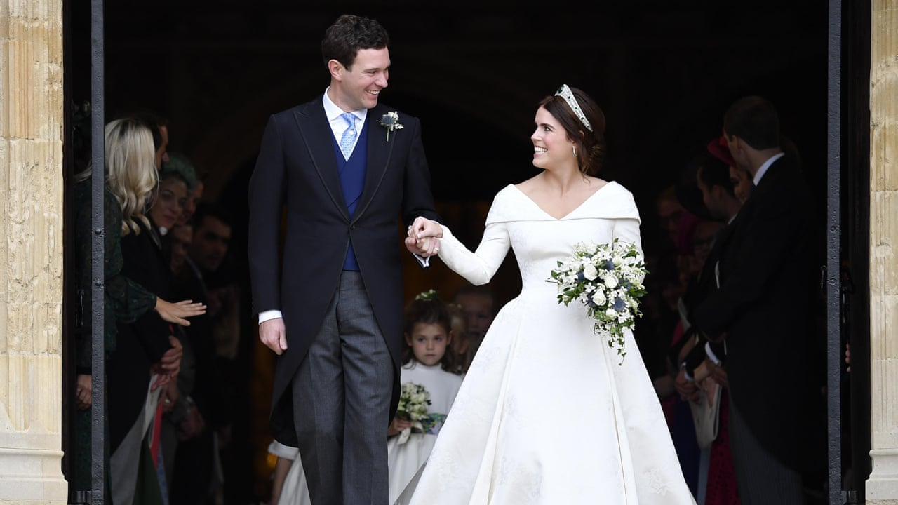 1af8d19e115ce3 Princess Eugenie and Jack Brooksbank  video highlights of the royal wedding
