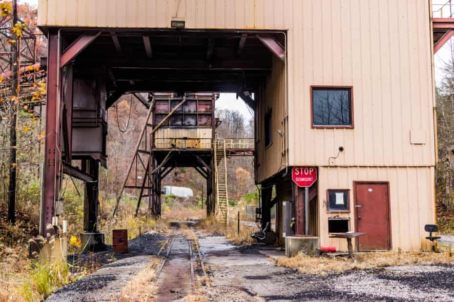 A disused mining facility in central Appalachia.