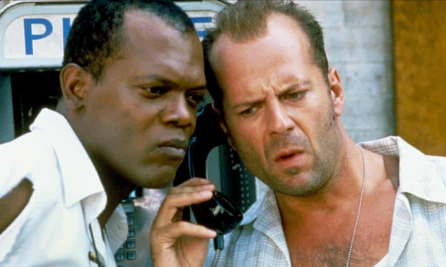 Fair cop ... Samuel L Jackson and Bruce Willis in Die Hard With a Vengeance.