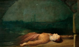 GF Watts's Found Drowned (1850).