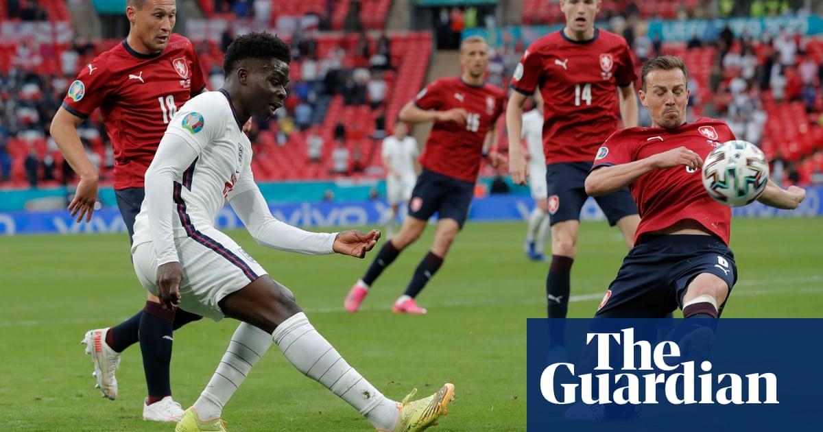 Bukayo Saka's versatility has Czechs flailing and England flying