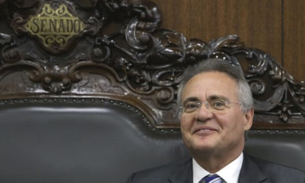 Renan Calheiros has been reinstated as head of the Brazilian senate after a vote in his favour by the supreme federal tribunal.