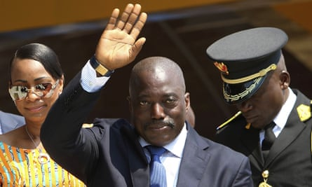 Joseph Kabila took power in 2001 and has won two elections.