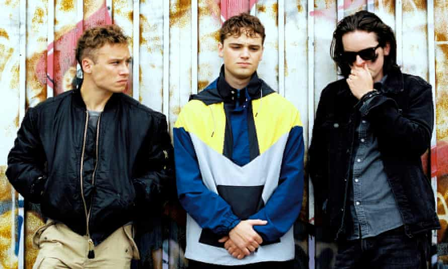 Finn Cole, Dean-Charles Chapman and Ferdia Walsh-Peelo in Here Are The Young Men.