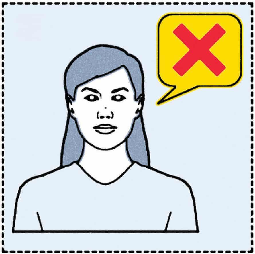 Do not speak foreign