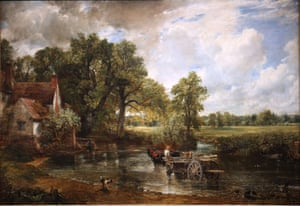 The Hay Wain by John Constable.