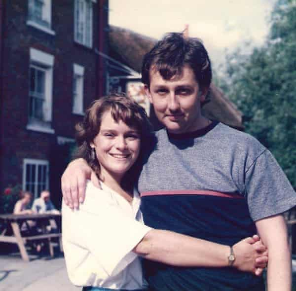 Mark and Sarah Stewart in 1986