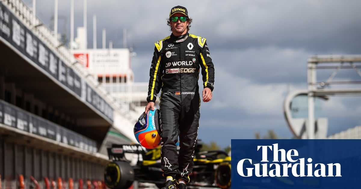Fernando Alonso relishing new beginning in F1 after Renault testing