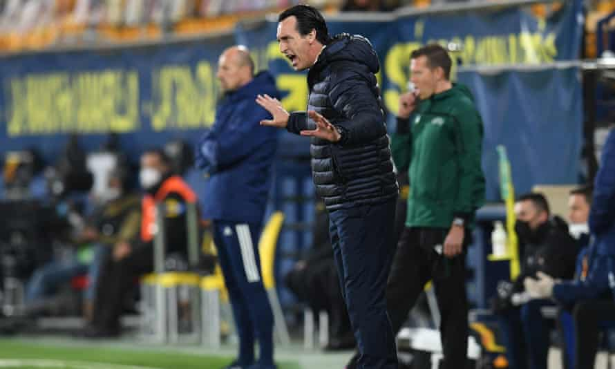 Unai Emery guided Villarreal into the Europa League semi-finals where he will face his former club Arsenal