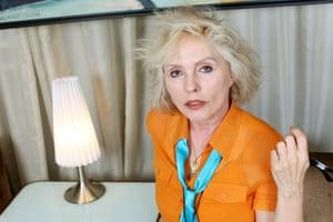 Colour blocking: Debbie in 2011