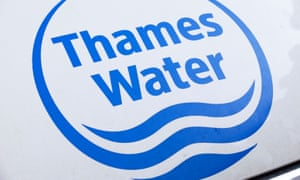 A Thames Water sign