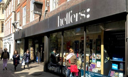 Heffers bookstore in Cambridge, UK