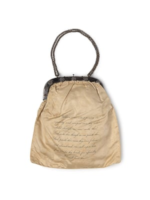 Bag (c. 1826) by Birmingham Ladies Society for the Relief of Negro Slaves (makers) and Samuel Lines (designer)