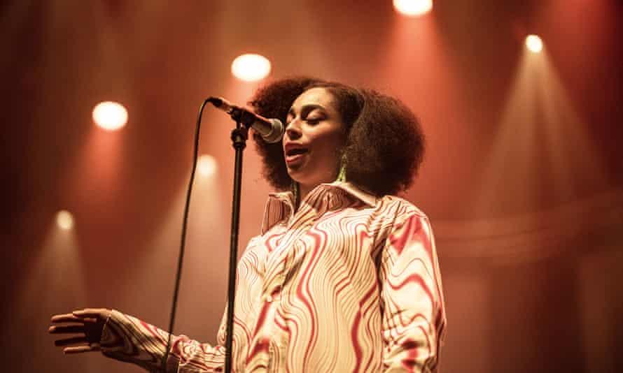 Celeste live in Copehagen last year.