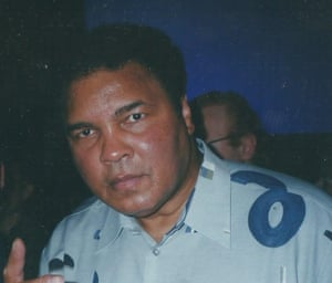 Meeting Muhammad Ali in Brisbane, in September 2000