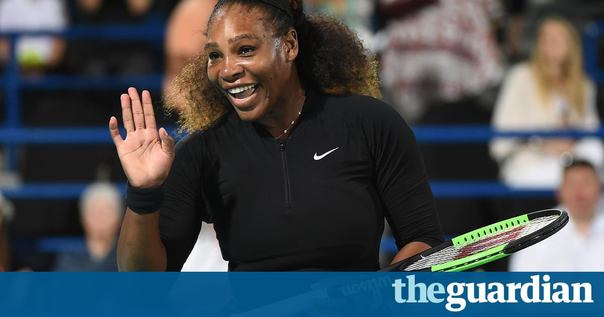 Was Serena Williams unrealistic to try to return so soon after giving birth?