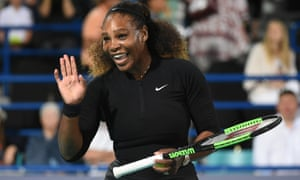 Serena Williams makes a return to tennis in the Mubadala World Tennis championship in Abu Dhabi in December.
