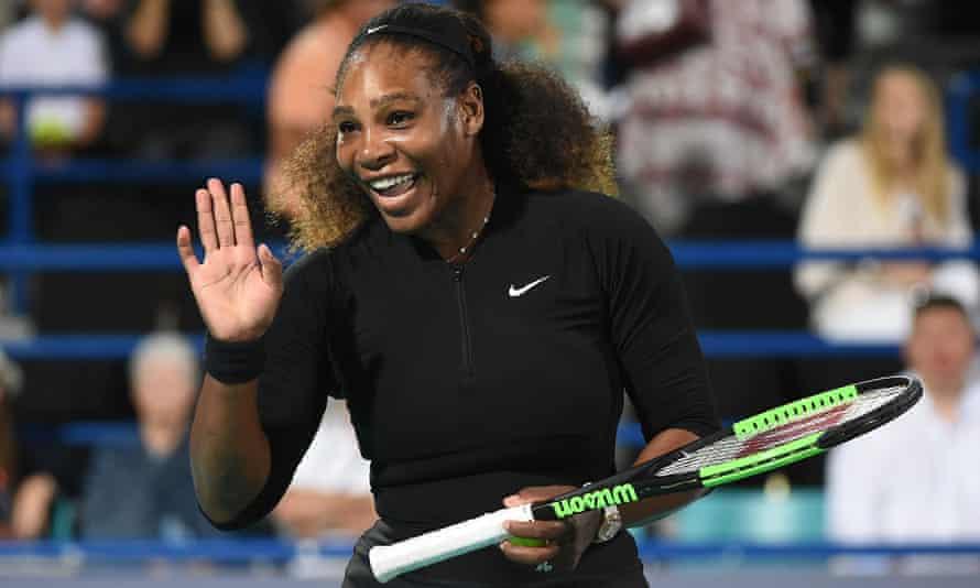 Serena Williams makes a return to tennis in the Mubadala World Tennis championship in Abu Dhabi in December.