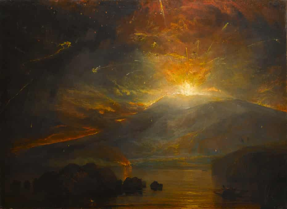 The Eruption of the Soufrière Mountains in the Island of St Vincent, 30 April 1812, 1815 by Joseph Mallord William Turner (1775–1851)