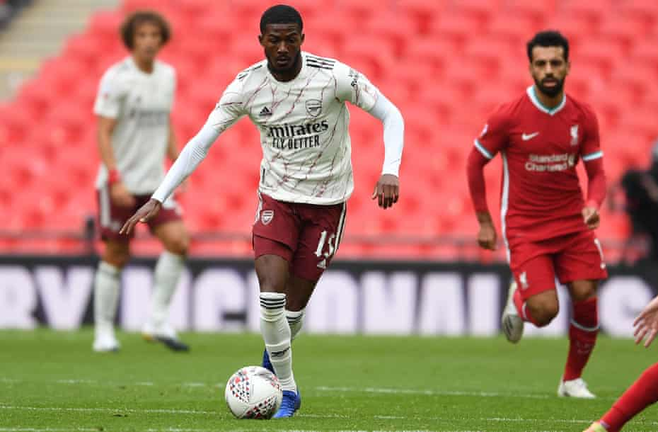 Ainsley Maitland-Niles had a brilliant game at Wembley against the Premier League champions.