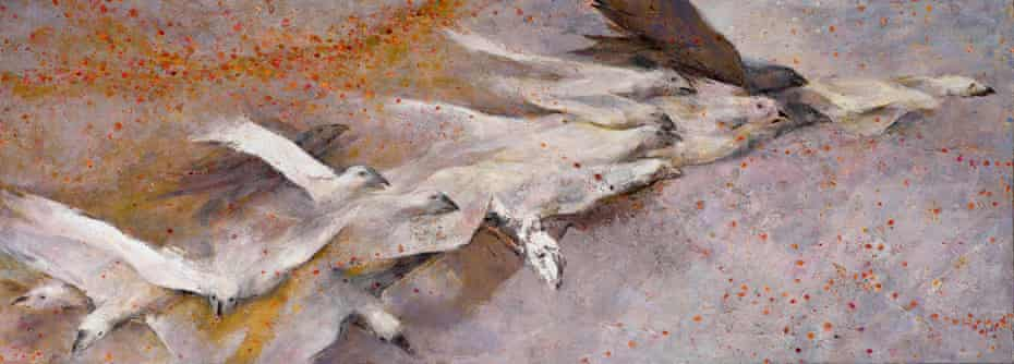 Sudden Flight by Anthony Whishaw from the Canwood Gallery show.