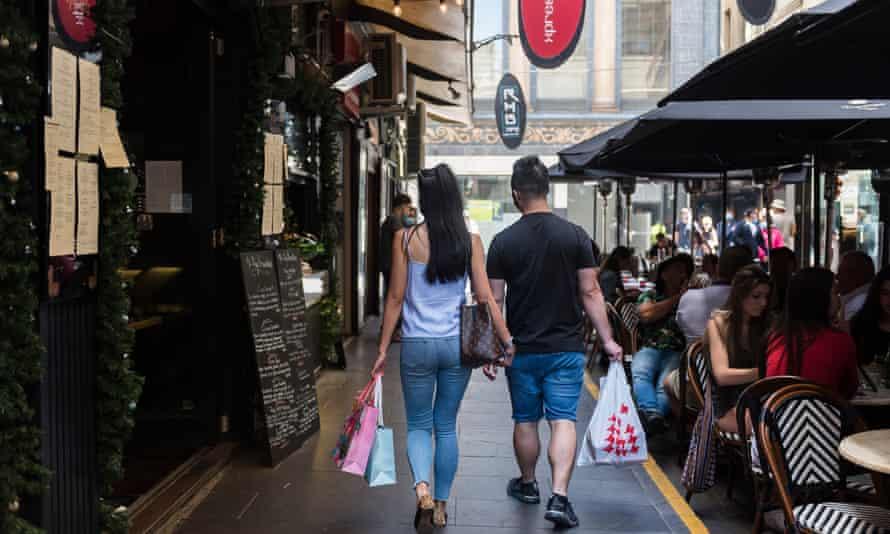 Australian shoppers