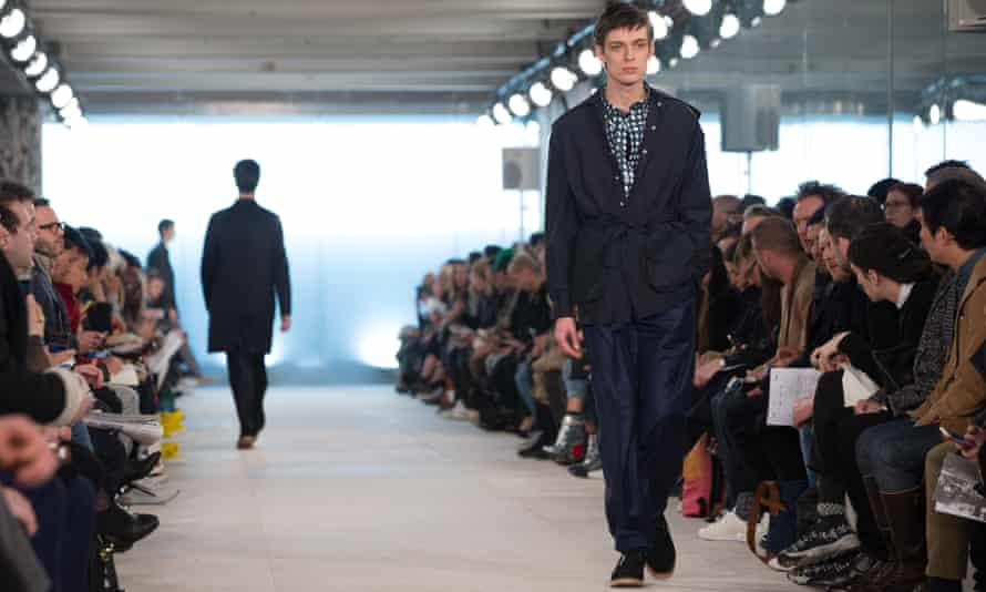 Relaxed looks at the E Tautz show, London Collections Men, autumn/winter 2016.