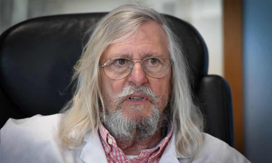 Professor of microbiology Didier Raoult.