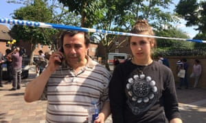 Miguel and Ines Alves, who fled their flat in Grenfell Tower