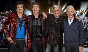 Back on the road ... Rolling Stones.