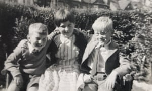 Tim Parks with his brother and sister.