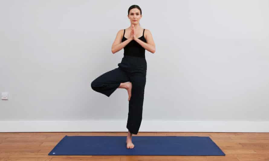 Yoga guru Adriene Mishler at Yoga on the Lane in east London