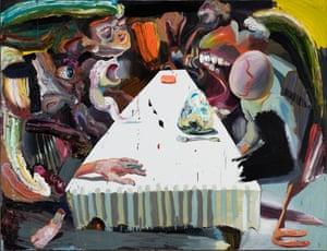 Ben Quilty's The Last Supper, 2016, oil on linen
