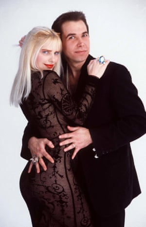 Koons with his then wife, Ilona Staller, 1992.<strong> </strong>